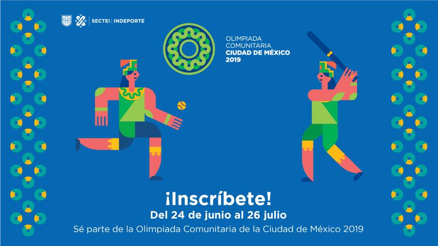 Olimpiada Comunitaria Ciudad de México 2019